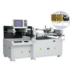 LEFC-66, CCD Screen Printer, ccd alignment solar cell screen printer